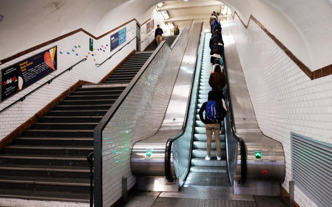 Amélioration du flux voyageur – station Porte Maillot -Paris.